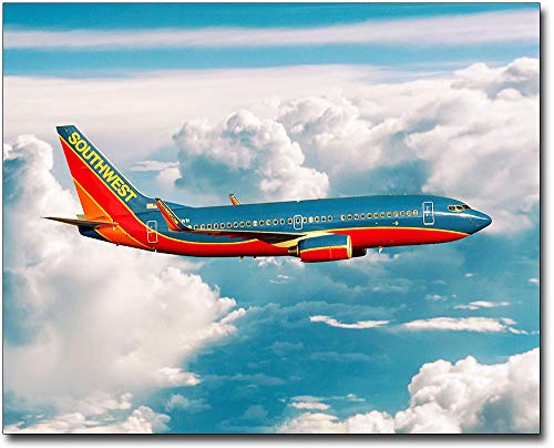 Southwest Airlines Boeing 737-300 30x40 Silver Halide Photo Print