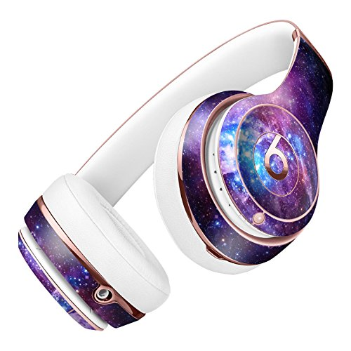 Glowing Deep Space DesignSkinz Full-Body Skin Kit for the Beats by Dre Solo 2 Wireless Headphones / Ultra-Thin / Matte Finished / Protective Skin Wrap by iiRov