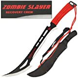 ZOMBIE SLAYER Recovery Crew Sword Knife Machete WICKED - Best Reviews Guide