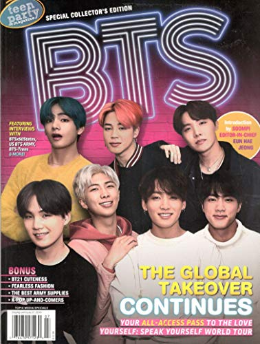 Teen Party Magazine Special Collector's Edition BTS The Global Takeover Continues -