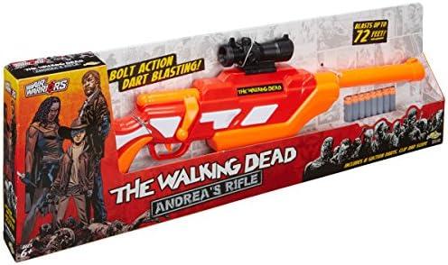 Amazon Com Buzz Bee The Walking Dead Andrea S Rifle Toys Games