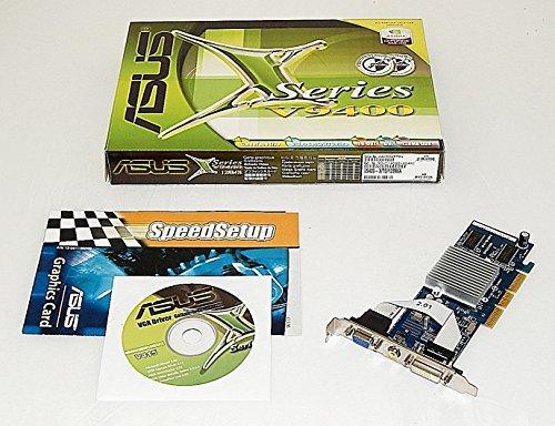 (ASUS V9400-X/TD/128M/A NVIDIA GeForce MX4000 128MB 64-Bit DDR 4X/8X AGP Video Card w/DVI, D-Sub, TV-Out)