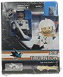 NHL San Jose Sharks Joe Thornton GEN 2 Limited Edition Minifigure, Small, Black