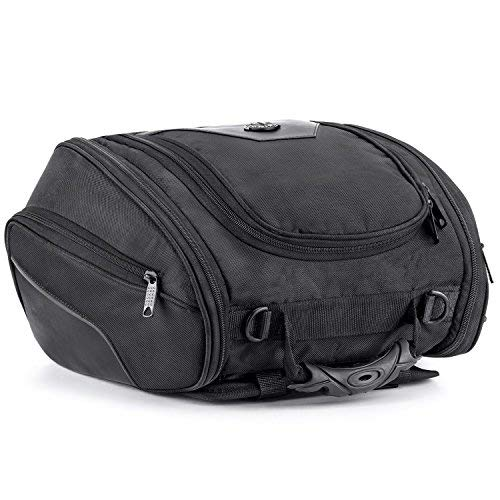 - Viking Bags Sport Bike Universal Fit Motorcycle Tail Bag (Medium)