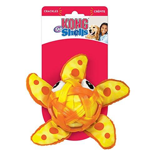 80%OFF KONG RSS13 Sea Shells Starfish Dog Toy, Medium/Large