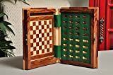 BOOK WOODEN MAGNETIC Travel Chess Set - LARGE