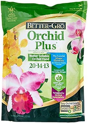 Amazon Com Fertilizer Urea Free Orchid Grow 20 14 13 Orchid
