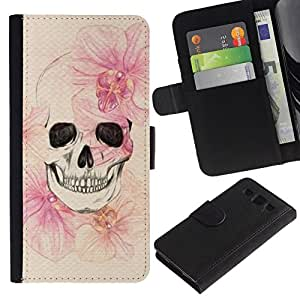 All Phone Most Case / Oferta Especial Cáscara Funda de cuero Monedero Cubierta de proteccion Caso / Wallet Case for Samsung Galaxy S3 III I9300 // Death Spring Meaning Deep Metal