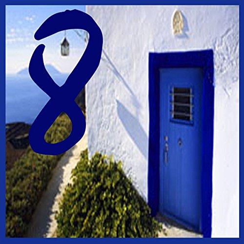 Azul'Decor35 Plaque Numéro de Maison en faience – 15x15x0, 5cm – Choisissez votre numéro! 5cm - Choisissez votre numéro! Azul'Decor35