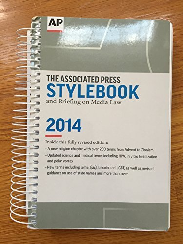 2014 associated press stylebook - 4