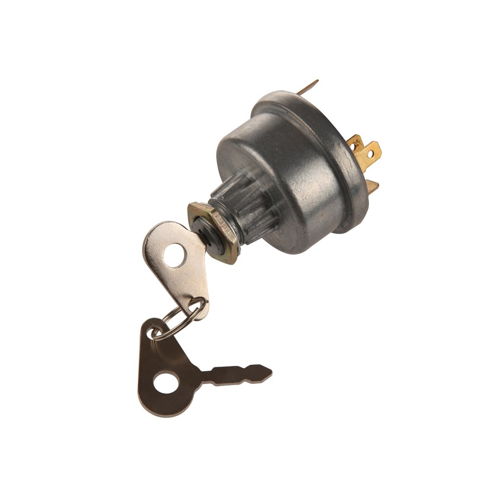 Midiya 3107556R92, K203992 Ignition Switch with 2 Keys for Lucas, David Brown,Backhoe Loader,Universal Car, Tractor,Trailer, agricultura, plant applications by MIDIYA