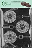 Cybrtrayd L015 30th Lolly Chocolate Candy Mold with Exclusive Cybrtrayd Copyrighted Chocolate Molding Instructions