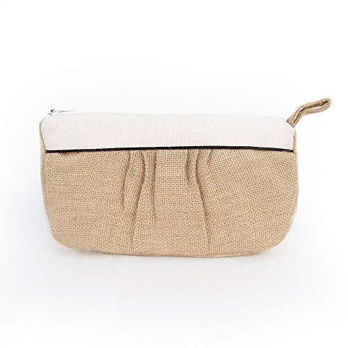Prairie Style Burlap and Cotton Essential Oil Carry Case For 5ml-30ml Bottles by Rivertree Life