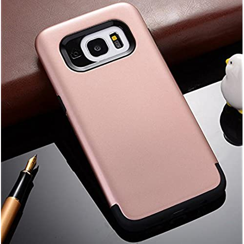 GalaxyS7 Armor Case, Cool Hard PC Utralight Slim Anti-Scratch Awesome Cover, OMORRO New Fashion 2 In 1 Hybrid Armour Protection Case for Samsung Sales