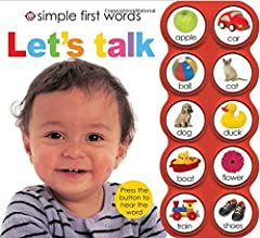 By pressing the buttons and matching the sounds to the pictures again and again, children will quickly and easily learn simple first words and develop their speech. Now with even clearer audio!