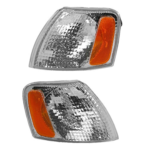 Signal Light Lamp Left & Right Pair Set for 98-01 Passat ()