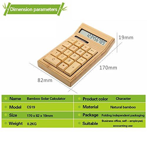 Sengu Solar Calculators Calculator with Large Display
