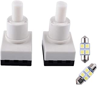 Durable 924-798 Dome Lamp Switch for 2006 Honda CR-V Odyssey Accord Pilot Ridgeline Dodge Ram 1500 Map Light Switch Replace 34404-SDA-A21 34404-SDA-A22D3(Updated Switch+Free Bulbs)