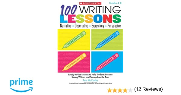Workbook differentiated instruction worksheets : Amazon.com: 100 Writing Lessons: Narrative ¥ Descriptive ...