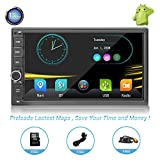 Car Stereo with Navigation Head Unit Touch Screen car Stereo Double din car Stereo with Navigation Double din car Stereo with Navigation car Stereo DVD Double din for Car (1) For Sale