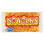 No Yolks Dumplings,12-Ounce 2 The healthier alternative to regular egg noodles Cooks in 10-12 minutes Made from egg whites, No Yolks have no cholesterol and are low in fat and sodium