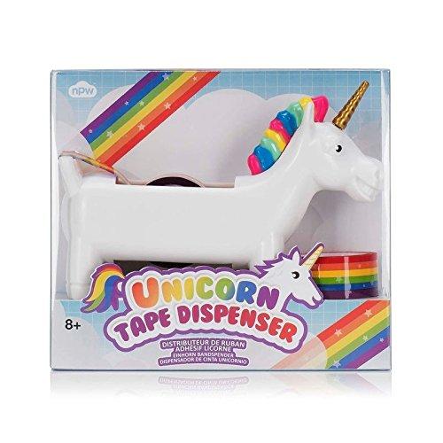 Unicornio dispensador de Cinta Adhesiva - Unicorn dispensador Arco Iris: Amazon.es: Hogar