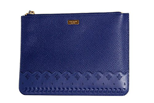 Kate Spade Marcus Street Gia Women's Leather phone card case holder Clutch (Asilah Blue) by Kate Spade New York