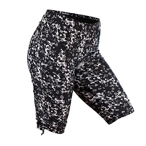 UV SKINZ UPF 50+ Womens Swim Jammerz (XL, Black Floral)