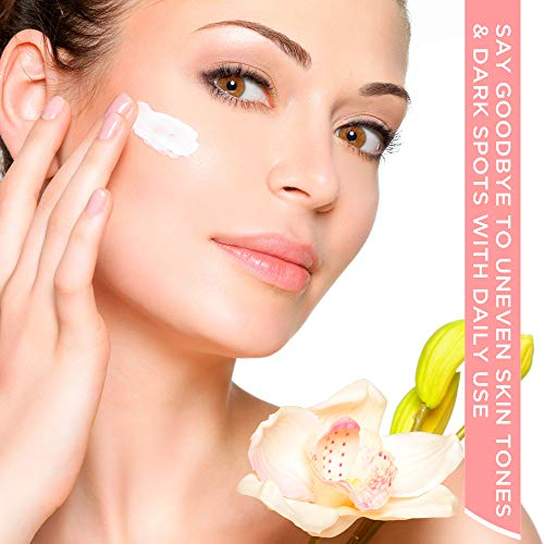 Anlome Whitening Cream Dark Spot Corrector and Skin Bleaching Cream for Face Intimate Parts and