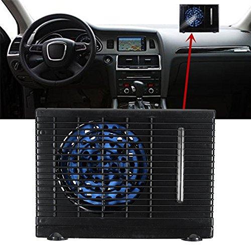 blue--net Evaporative Air Conditioner, Universal 12V Portable Car Cooler Cooling Fan Mini Cooling Conditioner Water Evaporative Air Fan by blue--net