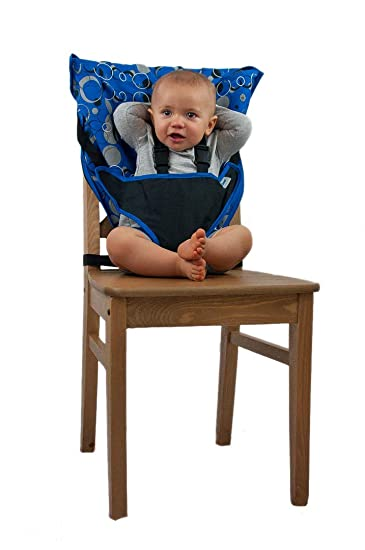 065067714c2 Amazon.com   Cozy Cover Easy Seat Portable High Chair (Blue) - Quick ...