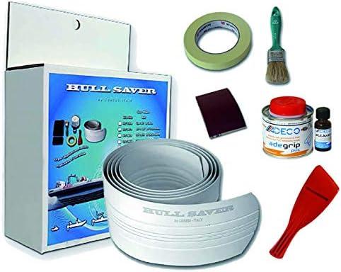 de 1,2 /à 3,6 m Ceredi Protection de quille Hull Saver Blanc