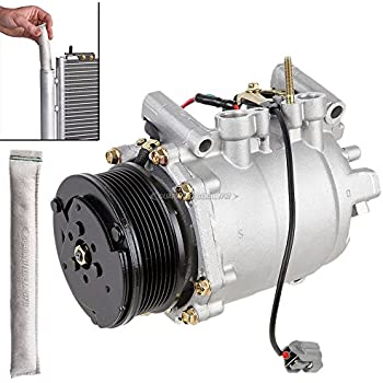 Premium Quality New AC Compressor & Clutch With A/C Drier For Honda CRV - BuyAutoParts 60-86546R2 New
