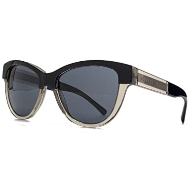 f667f1ace1a2 Burberry Two Tone Cateye Sunglasses in Black On Grey BE4206 355887 55 55  Grey
