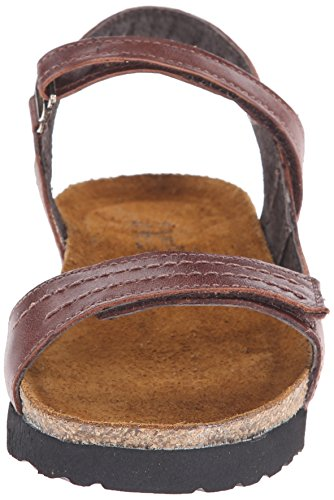Womens Luggage Leather Brown Naot Madison Sandals ZnSRdR