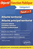Attaché Territorial Principal Concours Interne Troisième Concours Examen Professionnel