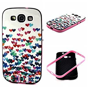 WQQ amar patrón cubierta de la caja para Samsung Galaxy S3 i9300