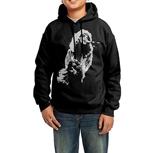 YHTY Youth Unisex Hoodies Fleetwood Mac Stevie Nicks Black Size (Funniest Kid Costumes)