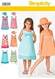 Simplicity Sewing Pattern 3859 Child Dresses, A (3-4-5-6-7-8)