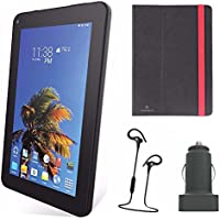 SLIDE 7 Android Tablet with Tablet Cover Accessory Bundle - Black