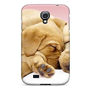 New Galaxy S4 Case Cover Casing(canine Cuddles)