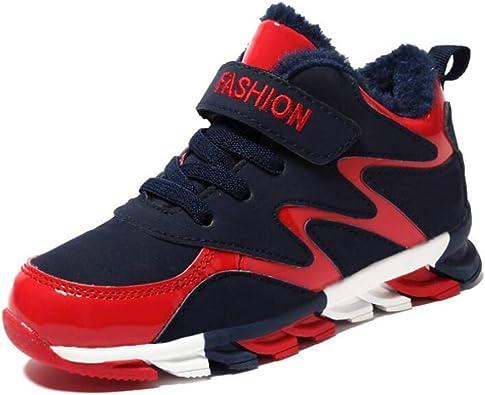 Zapatos Deportivos para NiñOs Zapatillas De Deporte para NiñOs Transpirables Resistentes Al Desgaste Calzados Informales A Prueba De Golpes Zapatos para Correr para NiñOs Zapatos De Baloncesto: Amazon.es: Zapatos y complementos