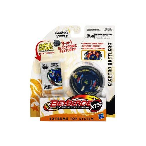 Beyblades XTS Electro Battler Electro Pisces おもちゃ [並行輸入品] B00RACXD5U