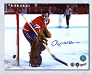 Rogie Vachon Montreal Canadiens Autographed Hockey Goalie 8x10 Photo