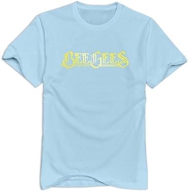 Nolysg Bee Gees - Camiseta para hombre (100% algodón), diseño con ...