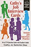 Cathy's Job Interview Cards, Cathy Jo Seitchik Diaz, 1882483766