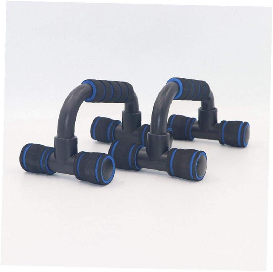Pushup Bar Perfetto Muscolare Spinge Verso Lalto Stand Maniglie Unisex Allenamento Push Up Esercizio Blu Nero 1set