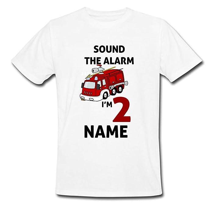 Amazon com: Sprinklecart Sound The Alarm I'm 2 Printed