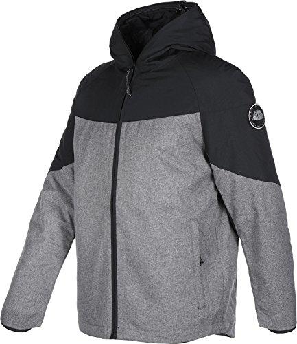 ELEMENT - Herren- Jacke Wasserabweisend Black Sky Fishmouth Schwarz Anthrazit und Grau für herren