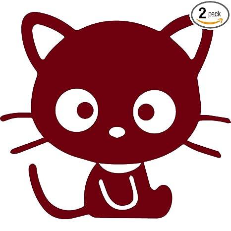 Amazon.com: angdest gato negro aventura (juego de 2) Premium ...